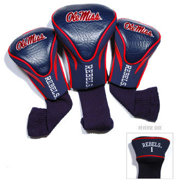 3 Pk Contour Sock Headcovers Mississippi Rebels