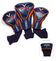 3 Pk Contour Sock Headcovers Virginia Cavaliers