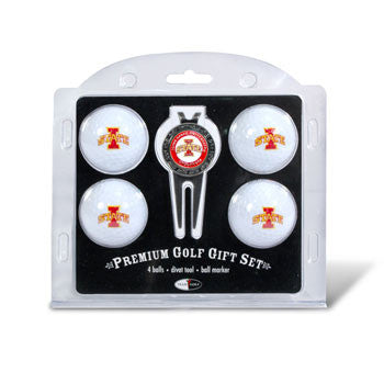 4 Ball Divot Tool Gift Set Iowa St. Cyclones