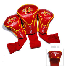 3 Pk Contour Sock Headcovers Iowa St. Cyclones