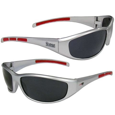 New England Patriots Wrap Sunglasses