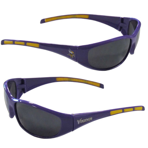 Minnesota Vikings Wrap Sunglasses