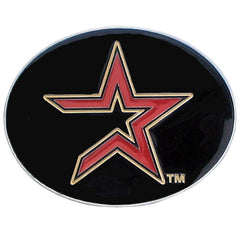 Astros Logo Belt Buckle