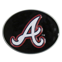 Braves Logo Belt Buckle