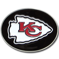 Chiefs Logo Belt Buckle
