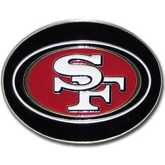 49ers Logo Belt Buckle