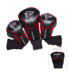 3 Pk Contour Sock Headcovers Atlanta Falcons