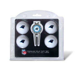4 Ball Divot Tool Gift Set Carolina Panthers