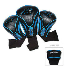 3 Pk Contour Sock Headcovers Carolina Panthers