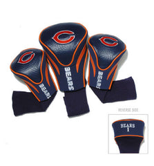 3 Pk Contour Sock Headcovers Chicago Bears