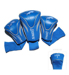 3 Pk Contour Sock Headcovers Detroit Lions