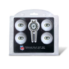 4 Ball Divot Tool Gift Set Green Bay Packers