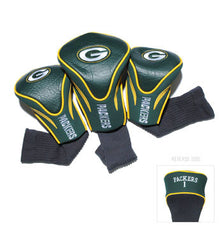 3 Pk Contour Sock Headcovers Green Bay Packers