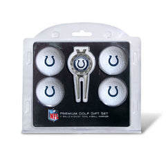 4 Ball Divot Tool Gift Set Indianapolis Colts