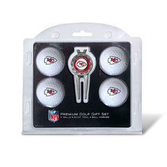 4 Ball Divot Tool Gift Set Kansas City Chiefs