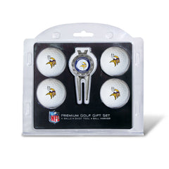 4 Ball Divot Tool Gift Set Minnesota Vikings