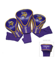 3 Pk Contour Sock Headcovers Minnesota Vikings