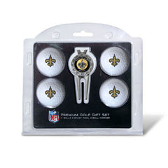 4 Ball Divot Tool Gift Set New Orleans Saints