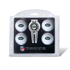 4 Ball Divot Tool Gift Set New York Jets