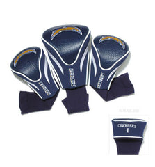 3 Pk Contour Sock Headcovers San Diego Chargers