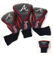 3 Pk Contour Sock Headcovers ATLANTA BRAVES