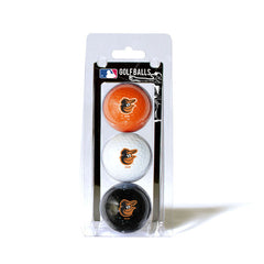3 Golf Ball Pack BALTIMORE ORIOLES