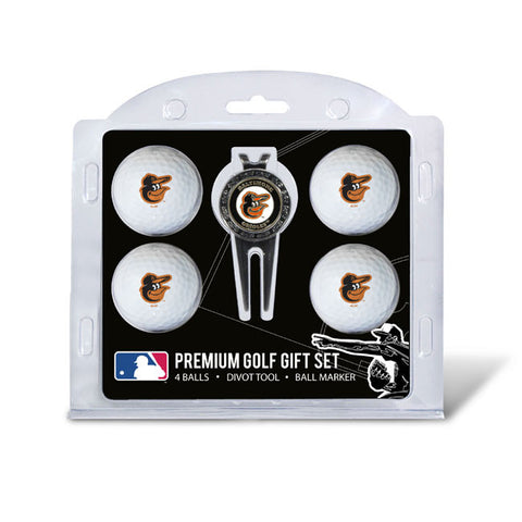 4 Ball Divot Tool Gift Set BALTIMORE ORIOLES