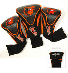 3 Pk Contour Sock Headcovers BALTIMORE ORIOLES