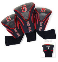 3 Pk Contour Sock Headcovers BOSTON RED SOX