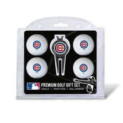 4 Ball Divot Tool Gift Set CHICAGO CUBS