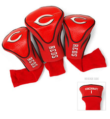 3 Pk Contour Sock Headcovers CINCINNATI REDS