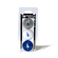 3 Golf Ball Pack LOS ANGELES DODGERS