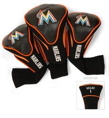 3 Pk Contour Sock Headcovers MIAMI MARLINS