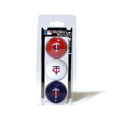 3 Golf Ball Pack MINNESOTA TWINS