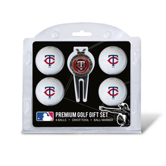 4 Ball Divot Tool Gift Set MINNESOTA TWINS