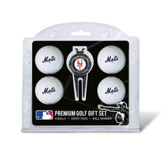 4 Ball Divot Tool Gift Set NEW YORK METS