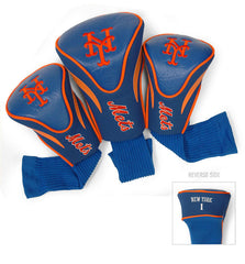 3 Pk Contour Sock Headcovers NEW YORK METS