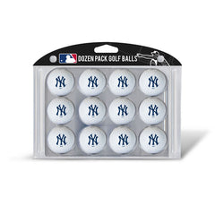Golf Balls Dozen Pack NEW YORK YANKEES