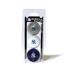 3 Golf Ball Pack NEW YORK YANKEES