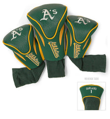 3 Pk Contour Sock Headcovers OAKLAND ATHLETICS