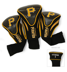 3 Pk Contour Sock Headcovers PITTSBURGH PIRATES