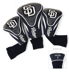3 Pk Contour Sock Headcovers SAN DIEGO PADRES