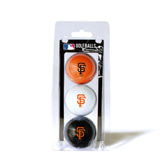 3 Golf Ball Pack SAN FRANCISCO GIANTS