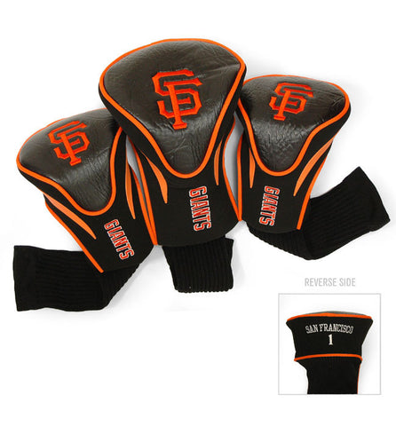 3 Pk Contour Sock Headcovers SAN FRANCISCO GIANTS
