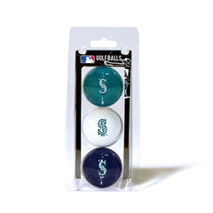 3 Golf Ball Pack SEATTLE MARINERS