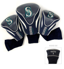3 Pk Contour Sock Headcovers SEATTLE MARINERS