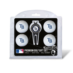 4 Ball Divot Tool Gift Set TAMPA BAY RAYS