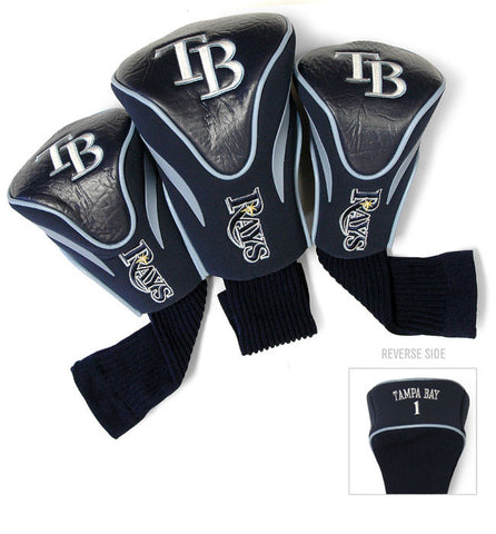 3 Pk Contour Sock Headcovers TAMPA BAY RAYS