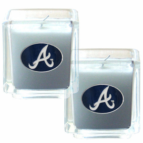 Atlanta Braves Scented Candle Set