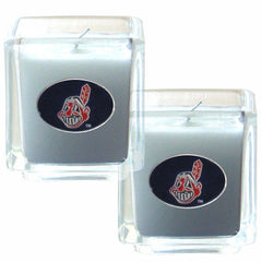 Cleveland Indians Scented Candle Set